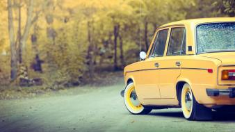 Lada 2106 russia russians autumn cars Wallpaper