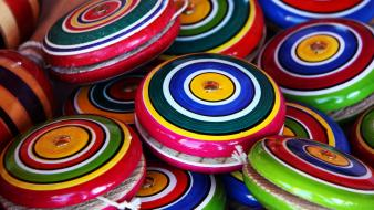 Mexican multicolor toys children yoyo wallpaper