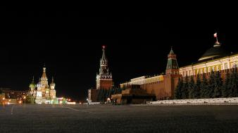 Moscow cityscapes night wallpaper
