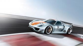 Porsche 918 automobiles cars races racing Wallpaper