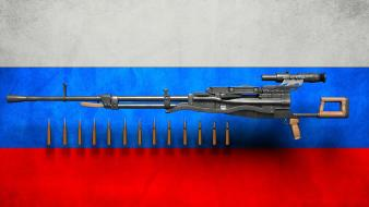 Russia guns machine gun weapons wallpaper