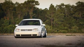 Volkswagen golf cars white wallpaper