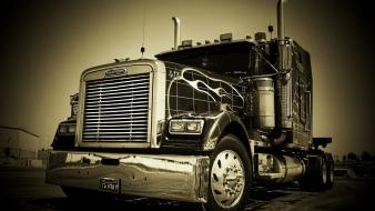 18 wheeler semi trucks Wallpaper