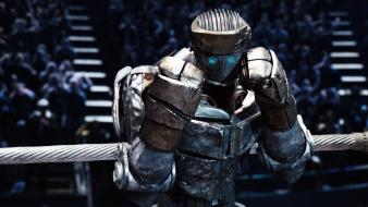 3d real steel atom fight movies wallpaper