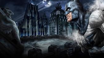 Arkham city batman dc comics Wallpaper