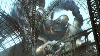 Artwork futuristic mecha robots science fiction wallpaper