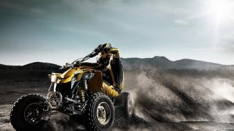 Atv brp dirt offroad quad Wallpaper