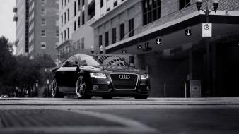 Audi s6 cars grayscale Wallpaper