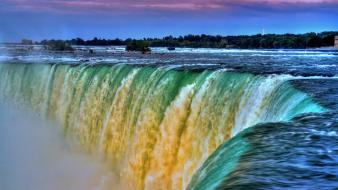 Canada niagara falls north america nature water Wallpaper