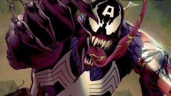 Captain america marvel comics venom villains Wallpaper