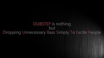 Dubstep funny music quotes wallpaper
