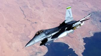 F16 fighting falcon nature Wallpaper