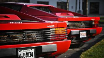 Ferrari testarossa automobiles cars wallpaper