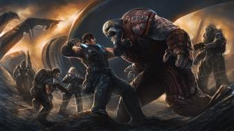 Gears of war 3 marcus fenix pc artwork wallpaper