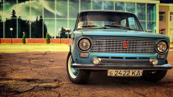 Hdr photography lada 2101 russians ussr automobiles wallpaper