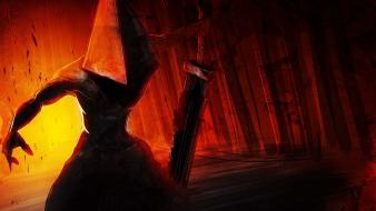 Pyramid head silent hill artwork Wallpaper