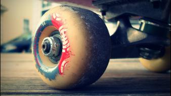 Skateboards wheel Wallpaper