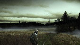 Stalker call of pripyat shadow chernobyl action Wallpaper