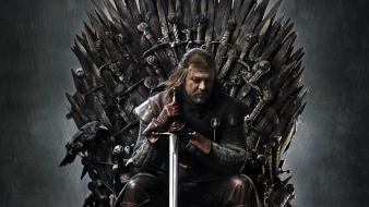 Stark game thrones iron throne sean bean Wallpaper