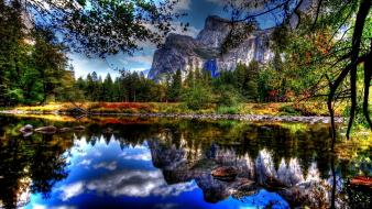 Yosemite national park landscapes wallpaper