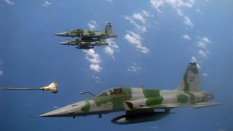 2008 brazil brazilian f5 freedom fighter aircraft Wallpaper