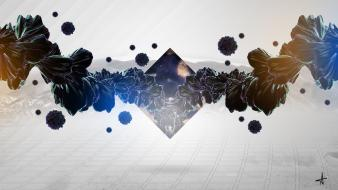 Abstract digital art illuminati wallpaper