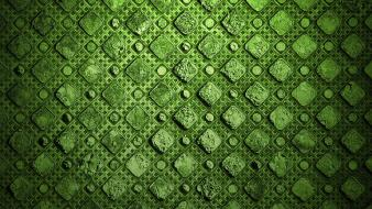 Abstract green textures wallpaper