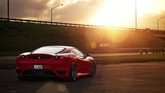 Adv 1 ferrari f430 exotic cars parking lot wallpaper