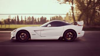 American cars dodge viper supercars trees tuning Wallpaper