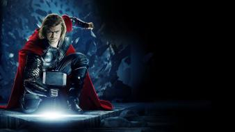 Avengers chris hemsworth mjolnir the movie thor Wallpaper