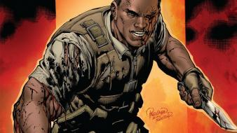 Battle scars marvel comics nick fury Wallpaper