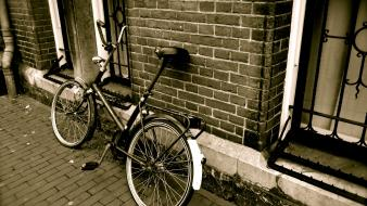 Bicycles bike urban wallpaper