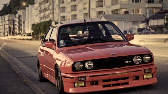 Bmw e30 m3 cars sports car streets wallpaper