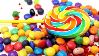 Candies design multicolor wallpaper