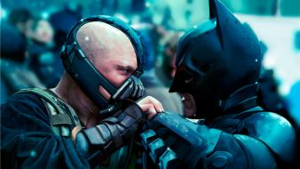 Dark knight rises christian bale tom hardy Wallpaper