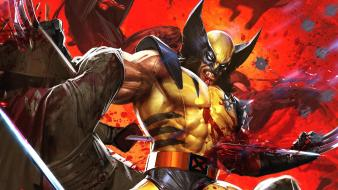 Dave wilkins marvel comics wolverine xmen Wallpaper