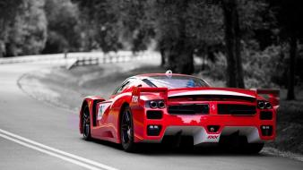 Ferrari fxx black and white cars red wallpaper
