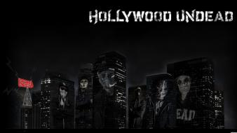 Hollywood undead band masks rocks tshirts wallpaper