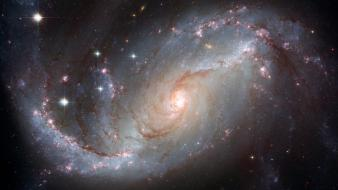 Hubble galaxies outer space telescope wallpaper