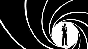 James bond minimalistic wallpaper