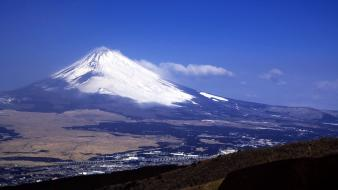 Japan mount fuji landscapes mountains wallpaper