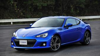 Jdm japanese domestic market subaru brz blue cars wallpaper