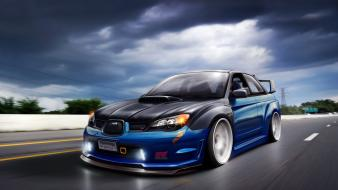 Jdm japanese domestic market subaru impreza concept cars wallpaper
