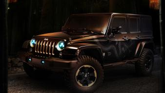 Jeep wrangler cars concept art wallpaper