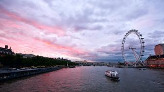London river thames cityscapes wallpaper