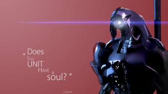 Mass effect 3 geth quotes video games Wallpaper