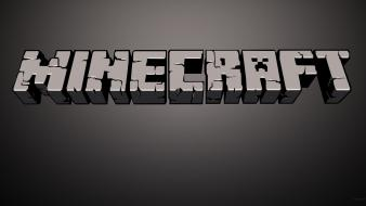 Minecraft logos Wallpaper