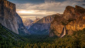 National park yosemite landscapes wallpaper