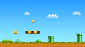 Nintendo super mario bros video games wallpaper