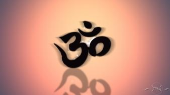 Om colors culture wallpaper